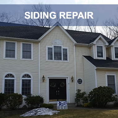 siding repair new london, hartford, new haven ct